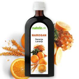 """Multivitaminų sirupas """"Narosan Apelsinas"""" plius magnio, 500ml"""