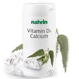 D vitaminas + kalcis su dilgėlių ekstraktu ir folio rūgštimi