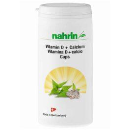 D-vitaminas + kalcio kapsulės  su dilgėlių ekstraktu ir folio rūgštimi