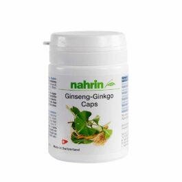 GINKMEDŽIO IR ŽENŠENIO KAPSULĖS su vitaminais B1, B2 ir B3 smegenų funkcijai gerinti, 30 vnt.